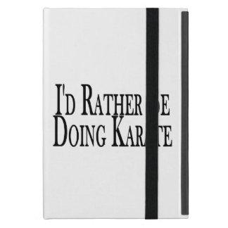 Doet eerder Karate iPad Mini Hoesje