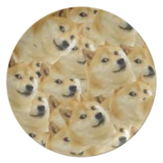 Doge Melamine+bord