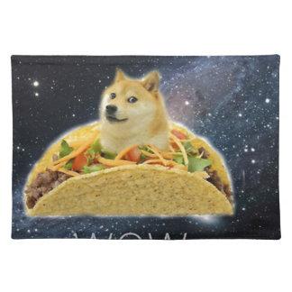 doge ruimtetaco meme placemat