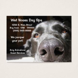 Doggie Spa Zaken en de Kaart van de Benoeming Visitekaartjes