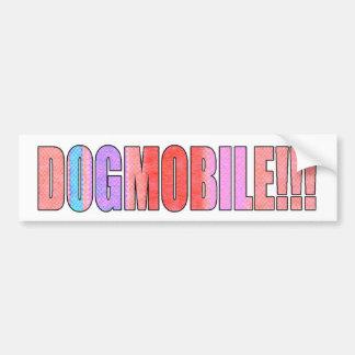 dogmobile bumpersticker