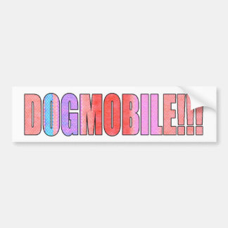 dogmobile bumpersticker