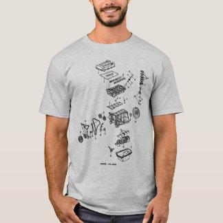 DOHC die met achterlogo is geëxplodeerd T Shirt