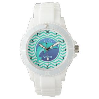 Dolfijn; De Groene Chevron van Aqua Horloges