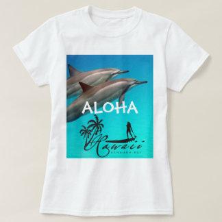 Dolfijnen en Aloha 103 van Hawaï T Shirt