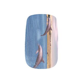 Dolfijnen Minx Nail Art