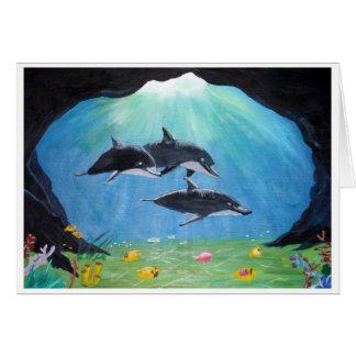 Dolfijnen Notitiekaart
