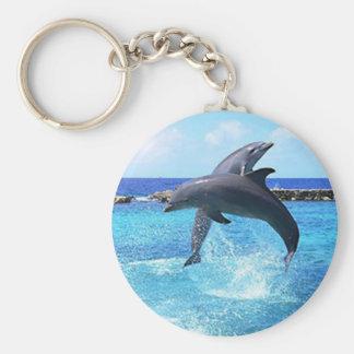 Dolfijnen Sleutelhanger