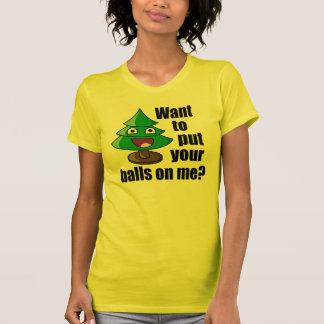 Dolkomische Kerstboom T Shirt