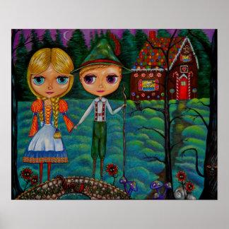 Doll van Hansel en van Gretel Blythe Poster
