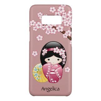 Doll van Kokeshi van de lente - Leuke Japanse Case-Mate Samsung Galaxy S8 Hoesje