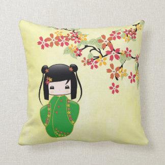 Doll van Kokeshi van Sakura, Hoofdkussen Sierkussen