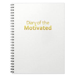 DoM - Notitieboekje van Gemotiveerd (Wit) Ringband Notitieboek
