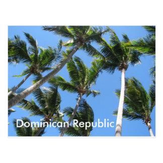 Dominicaans palmbriefkaart briefkaart