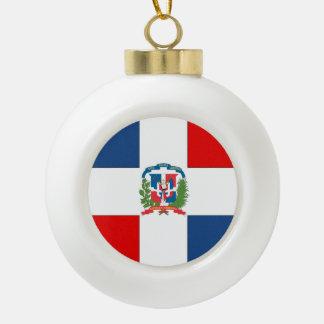 Dominicaanse Republiek Keramische Bal Ornament