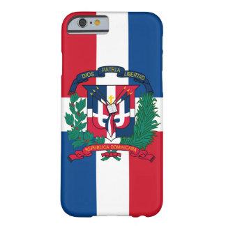 Dominicaanse republiekembleem barely there iPhone 6 hoesje