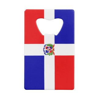 Dominicaanse Vlag Creditkaart Flessenopener