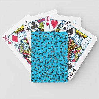 Domino's op Blauw Pak Kaarten
