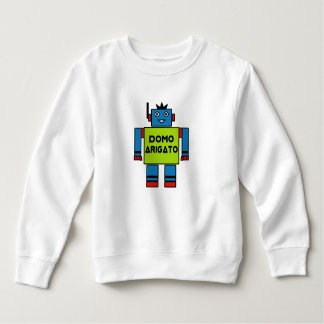 Domo Arigato M. Roboto Toddler Fleece Sweatshirt
