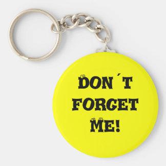 Don´t vergeet me! sleutelhanger
