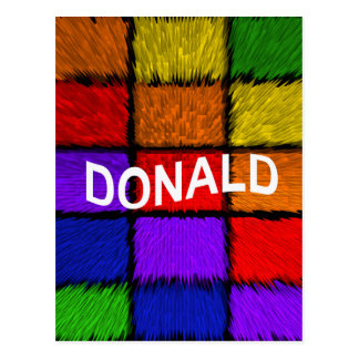 DONALD BRIEFKAART