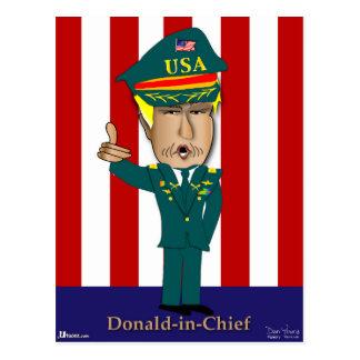 Donald-in-belangrijkst Briefkaart
