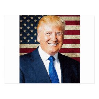 Donald Trump Briefkaart