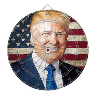 Donald Trump Dartbord