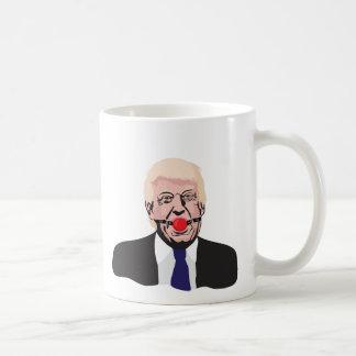 Donald Trump met een propbal - twee diy Koffiemok