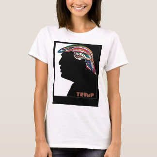 Donald Trump Psychedelic Combover T Shirt