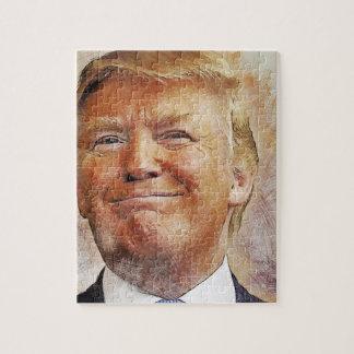 Donald Trump Puzzel