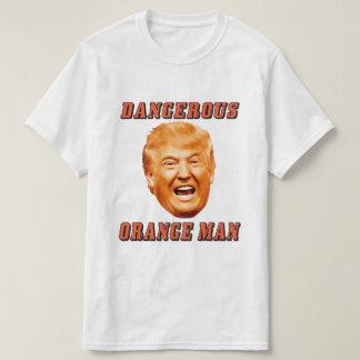 Donald Trump Shirt | Gevaarlijk Oranje Man