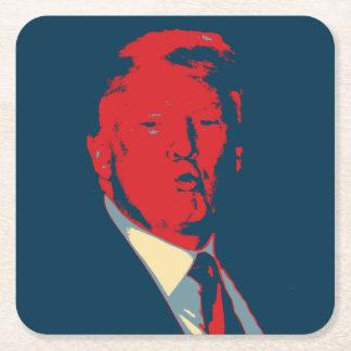 Donald Trump Vierkante Onderzetter