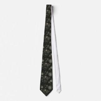Donker grijs zwart steampunkstropdas, de horloges persoonlijke stropdassen