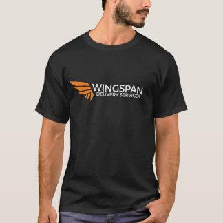 (Donker) het logot-shirt van de Diensten van de T Shirt