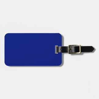 Donkerblauwe slechts elegante stevige OSCB33 Bagagelabel