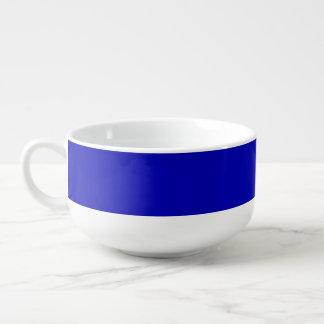 Donkerblauwe Stevige Kleur Soepkom