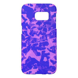 Donkere Camo Samsung Galaxy S7 Hoesje