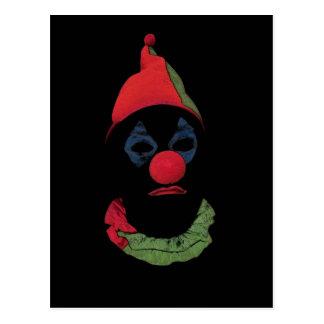 Donkere Clown Briefkaart