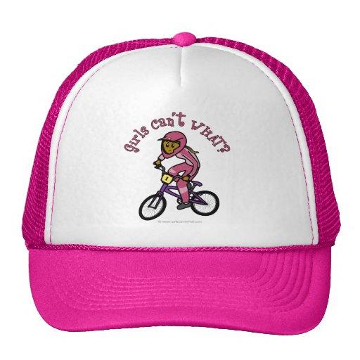Donkere Roze Meisjes BMX Mesh Pet