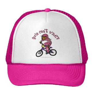 Donkere Roze Meisjes BMX Petten Met Netje