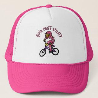 Donkere Roze Meisjes BMX Trucker Pet