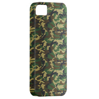 Donkere Standaard BosCamo Barely There iPhone 5 Hoesje