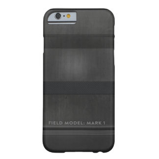 Donkergrijs Model - Mark I Barely There iPhone 6 Hoesje