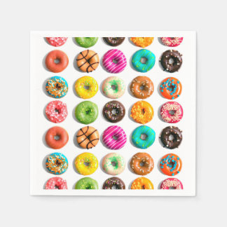 Donuts Papieren Servet