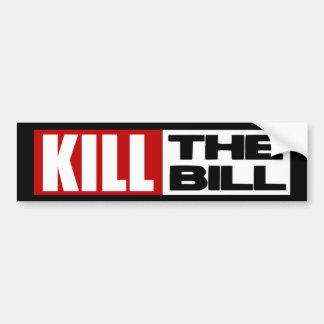 Dood de Rekening - de AntiZorg van Obama Pelosi Bumpersticker