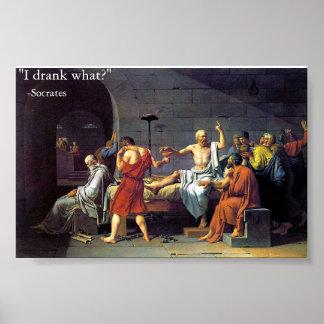 dood van Socrates Poster
