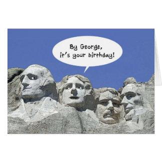 Door George is It Uw Verjaardag, de Kaart van MT