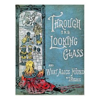 Door het het Kijken Briefkaart van het Glas