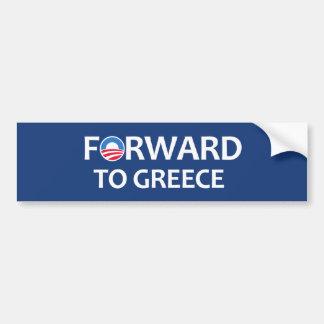 DOOR:STUREN aan Griekenland Bumpersticker